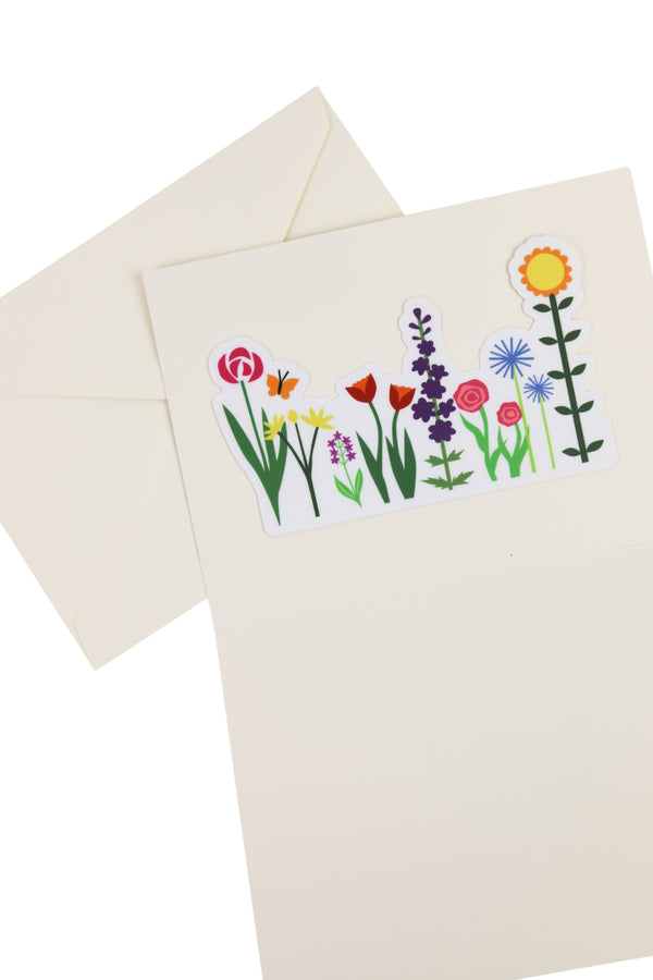 Mothers Day Garden Card + Sticker