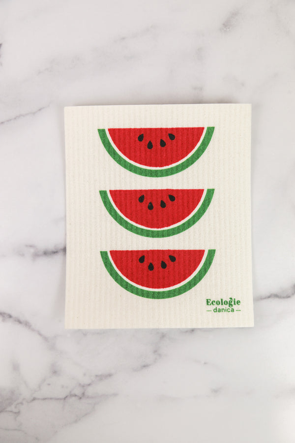 Watermelon Swedish Dishcloth