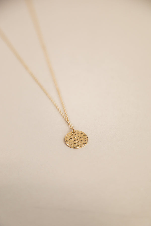 Golden City Initial Necklace