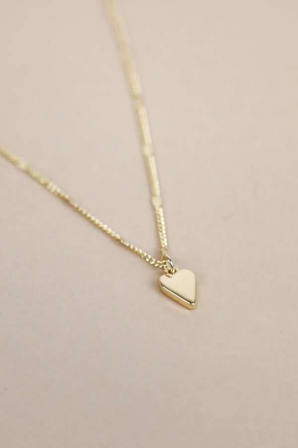 Everly Heart Necklace