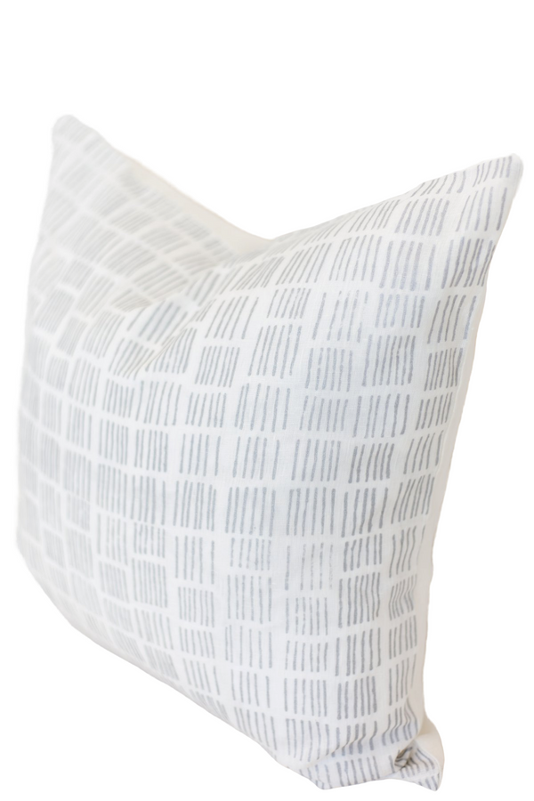 Tally Hand Block Cushion