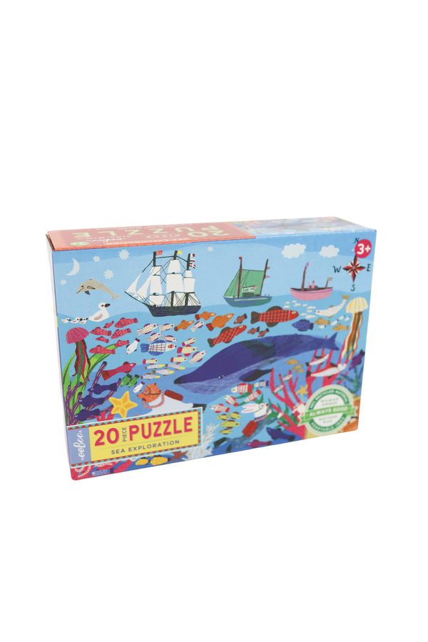 Sea Exploration 20 Piece Big Puzzle