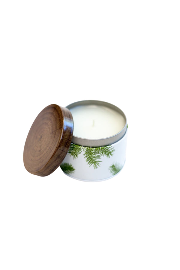 Frasier Fir Poured Candle in Tin