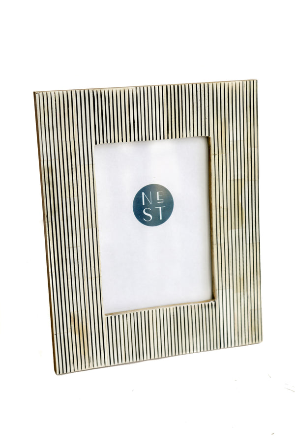 Stripe Bone 5x7 Frame