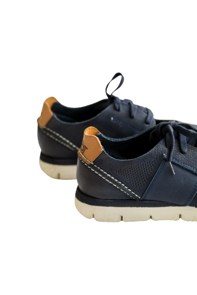 All Day Cut Out Sneaker in Navy