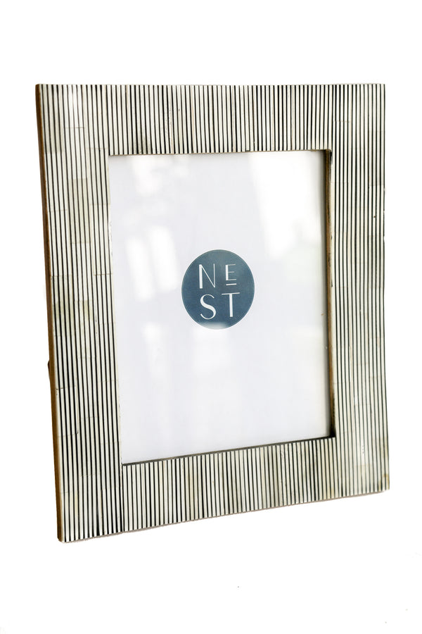 Stripe Bone 8x10 Frame