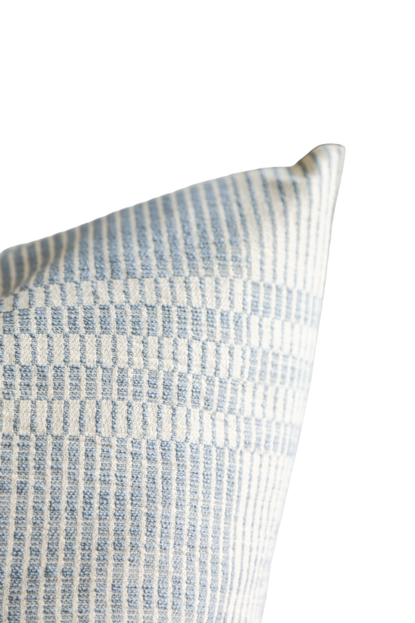 Perla Dusty Blue Pillow