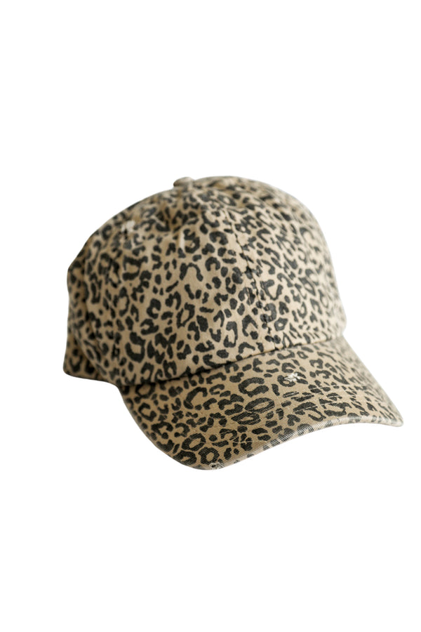 Safari Leopard Hat