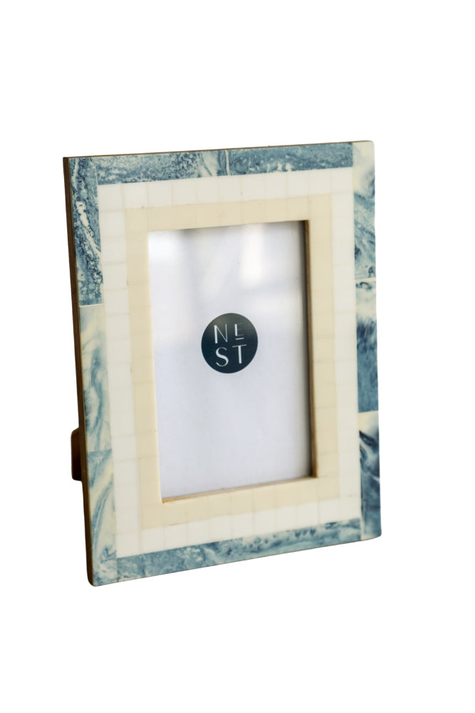 Blue Marble Photo Frame