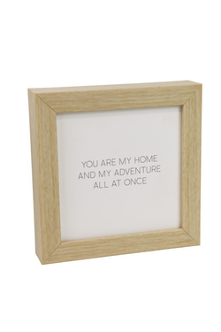 You Are My Home Quote