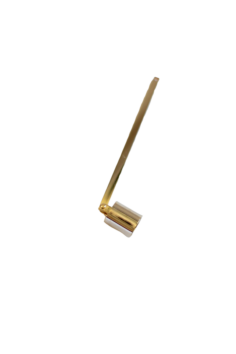 Golden Candle Snuffer