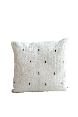 Black Dot Pillow