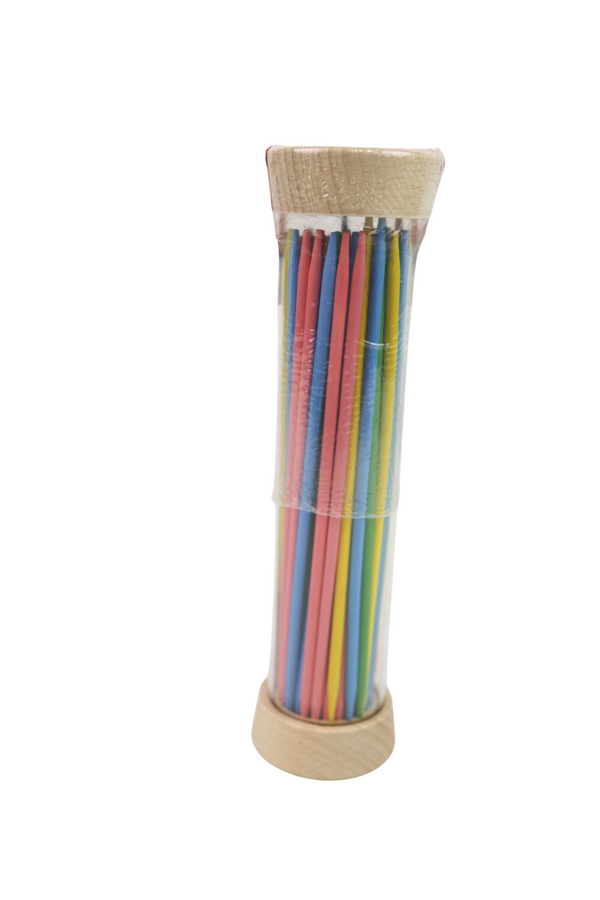 Rainbow Pick-Up Sticks Game