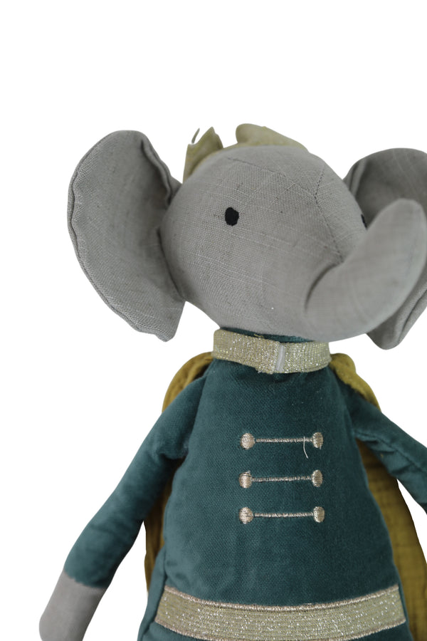 Elroy Elephant Prince Heirloom Doll
