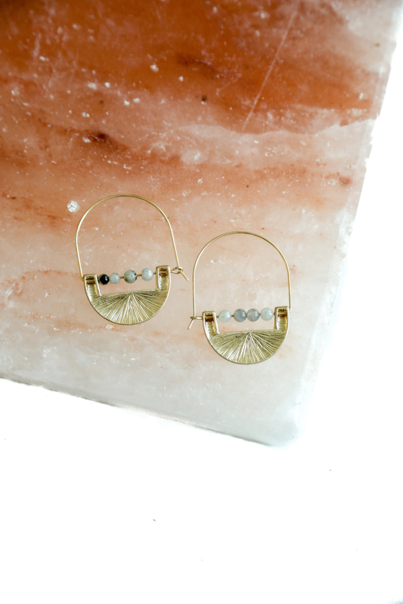 Haven Gold Drop Earrings