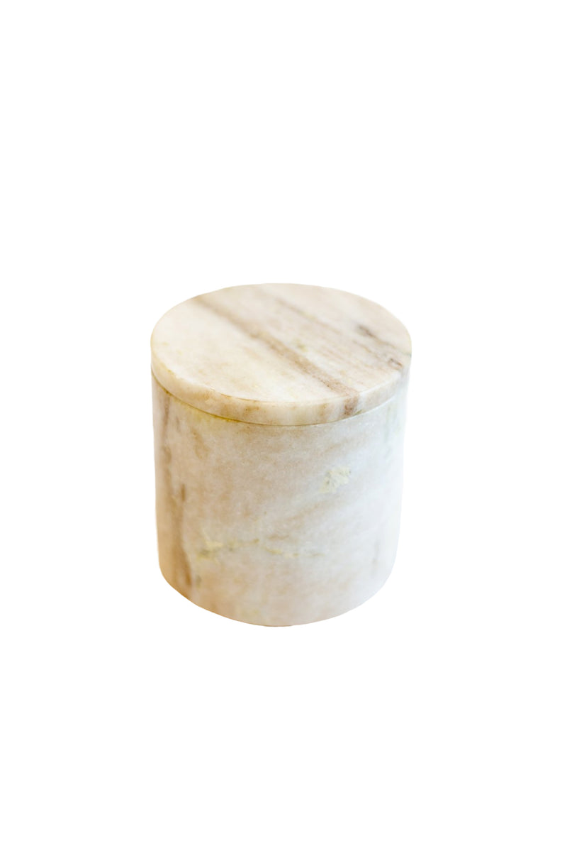 Natural Marble Canister
