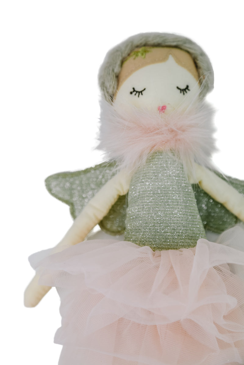 Adele Small Pink Angel Heirloom Doll