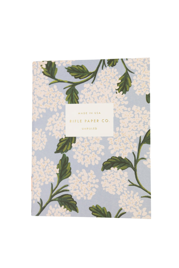 Pair of 2 Hydrangea Pocket Notebooks
