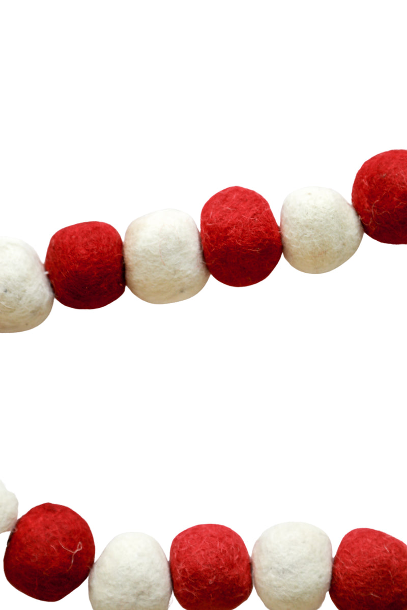 Holly Jolly Pom Pom Garland