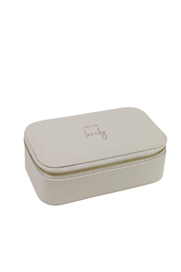 Hello Lovely Jewelry Box// 2 Sizes