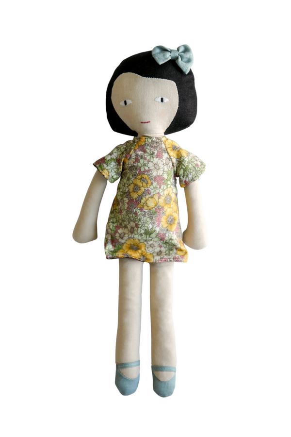 Doll with Reversible Dress