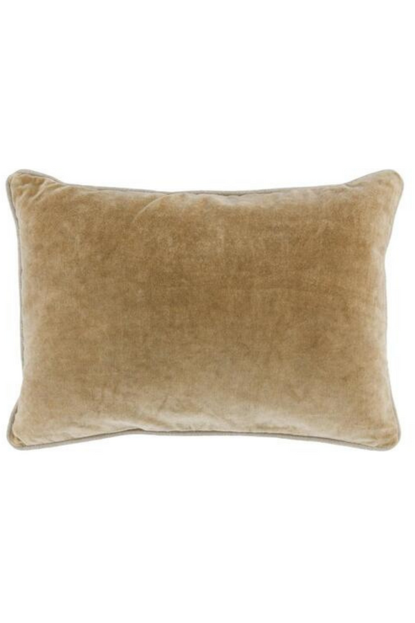 Samuel Velvet Wheat Pillow