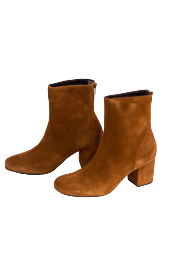 Free People: Cecile Ankle Boot in Brown