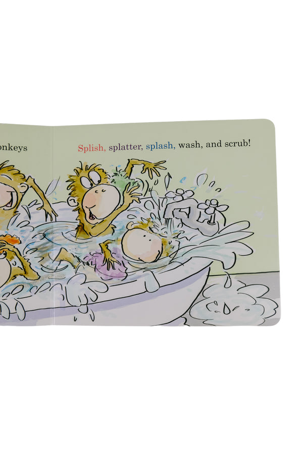 5 Little Monkeys Jump in the Bath