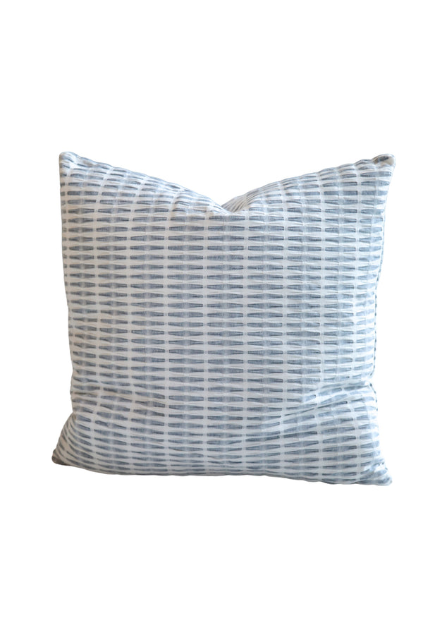 Jo Pleated Pillow in Navy