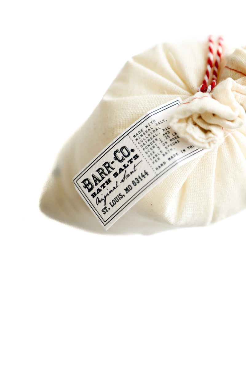 Barr-Co. Original Scent Bag Of Bath Salts
