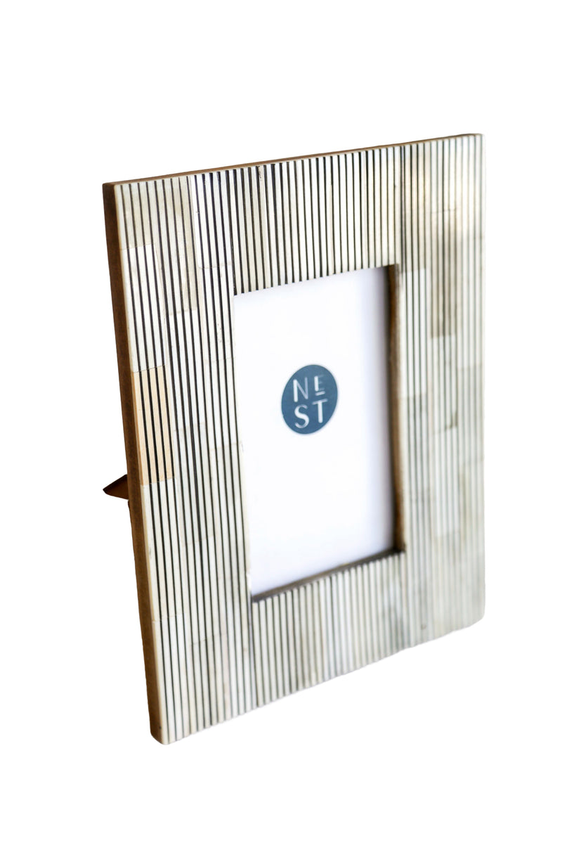 Stripe Bone 4x6 Frame