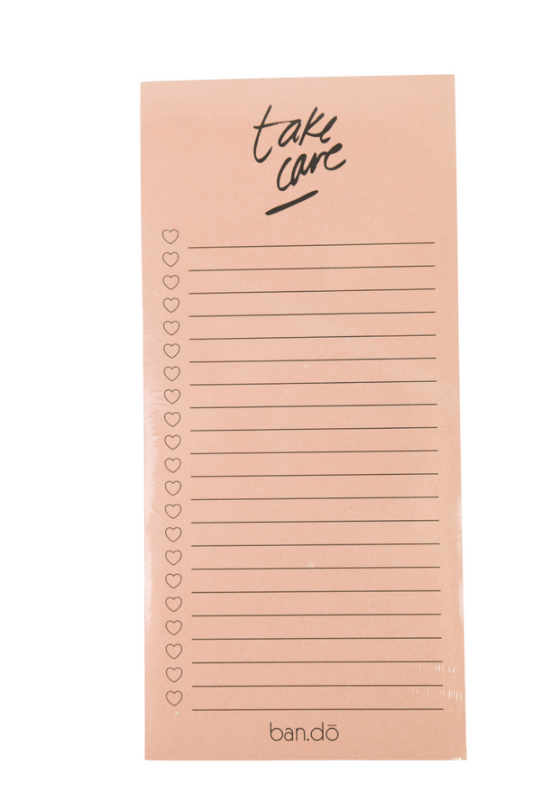 Ban.do Magnetic Notepad: Take Care