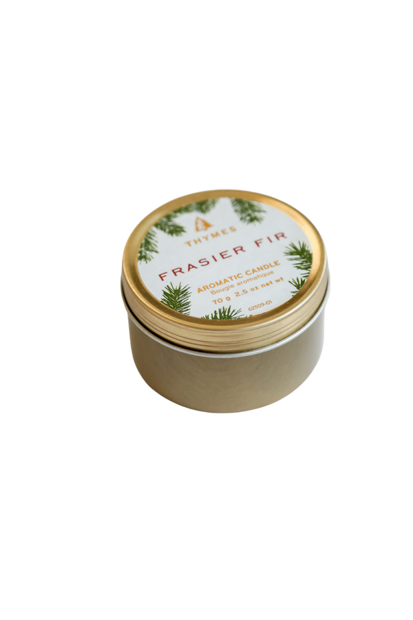 Frasier Fir Poured Travel Tin