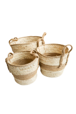 Tan Shore Baskets