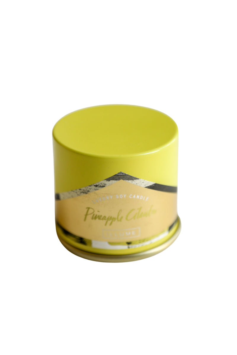 Pineapple Cilantro Demi Vanity Tin
