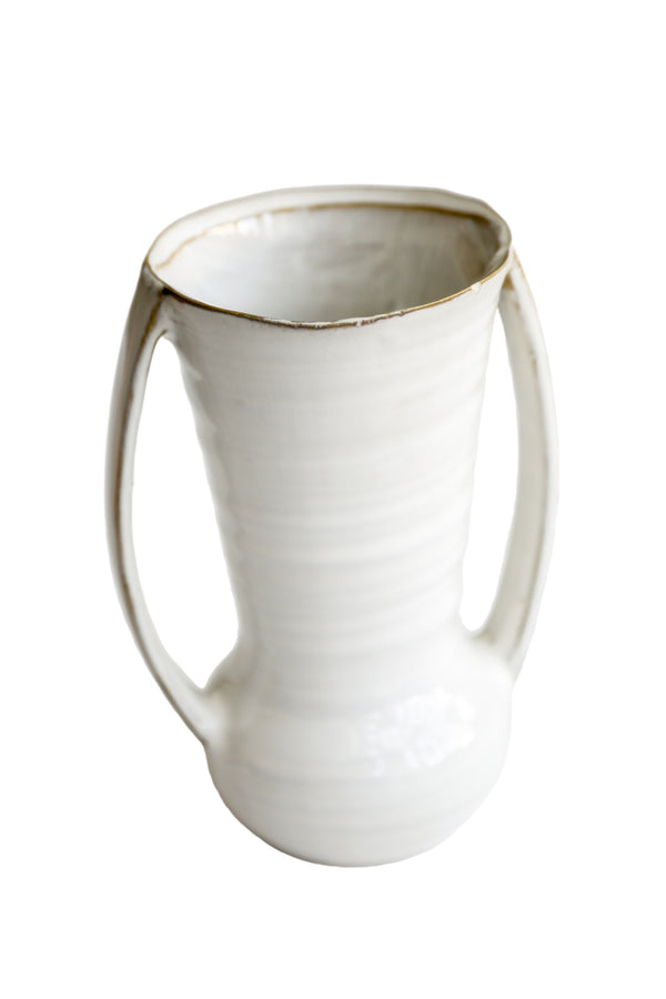 Zenna White Pot