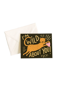 Wild About You Card