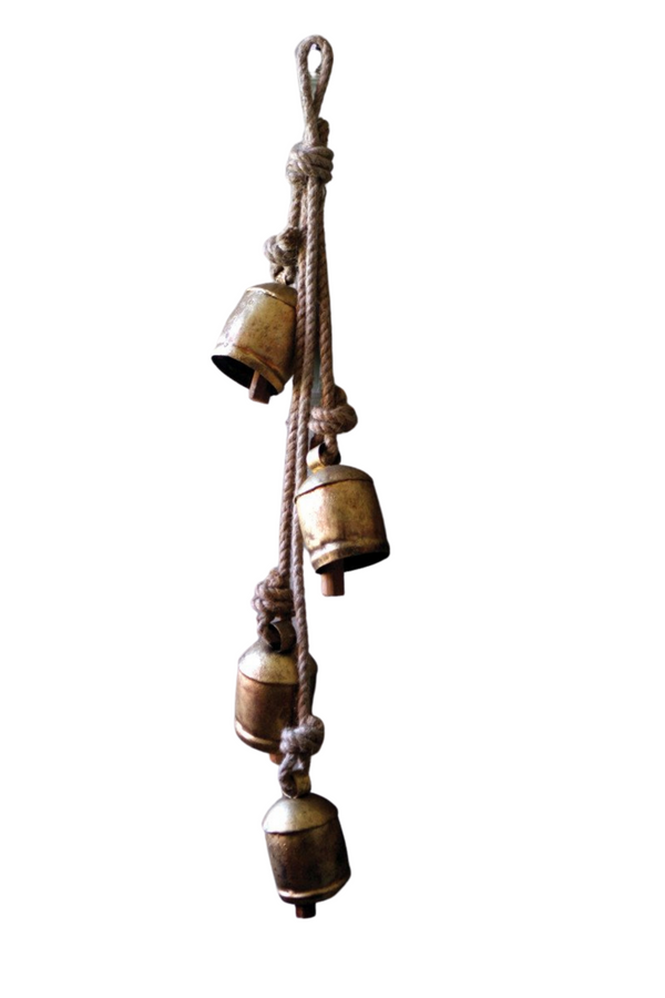 Rustic Bells on Rope