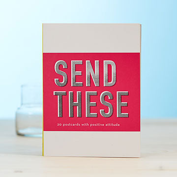 Send These Postcard Book