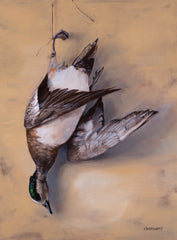 Hanging Wigeon - Canvas Print