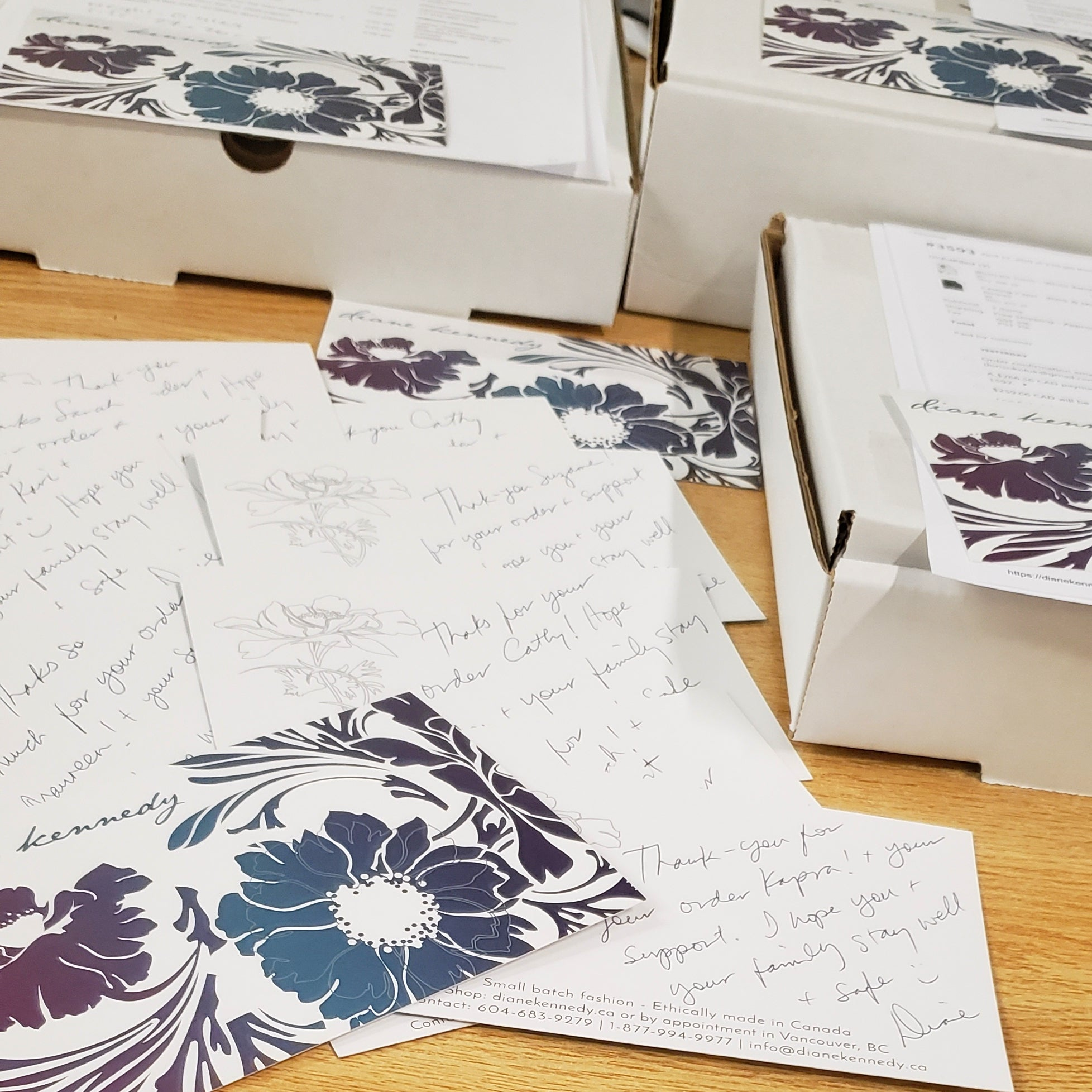 Diane Kennedy Thank You Cards