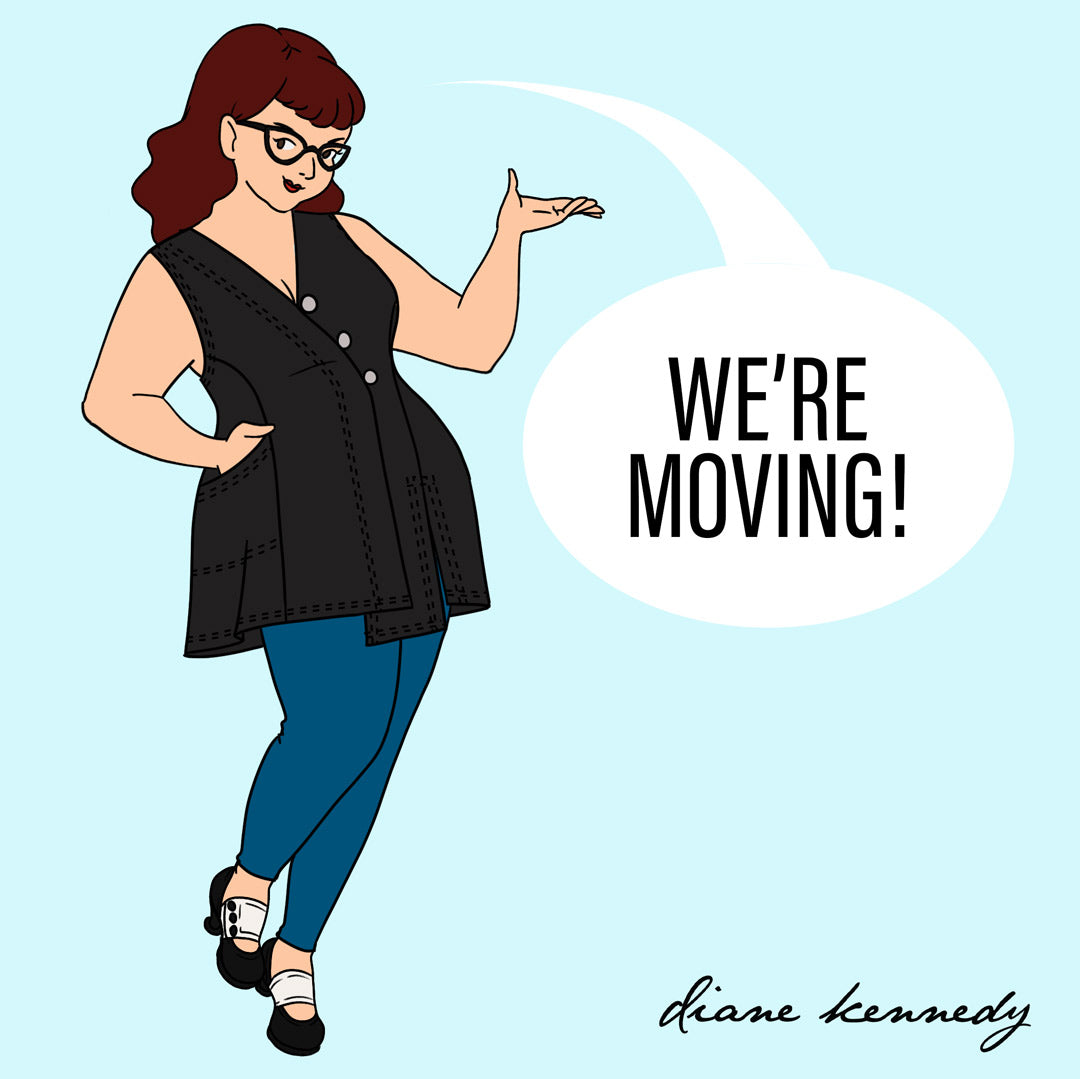 Diane Kennedy drawing about moving