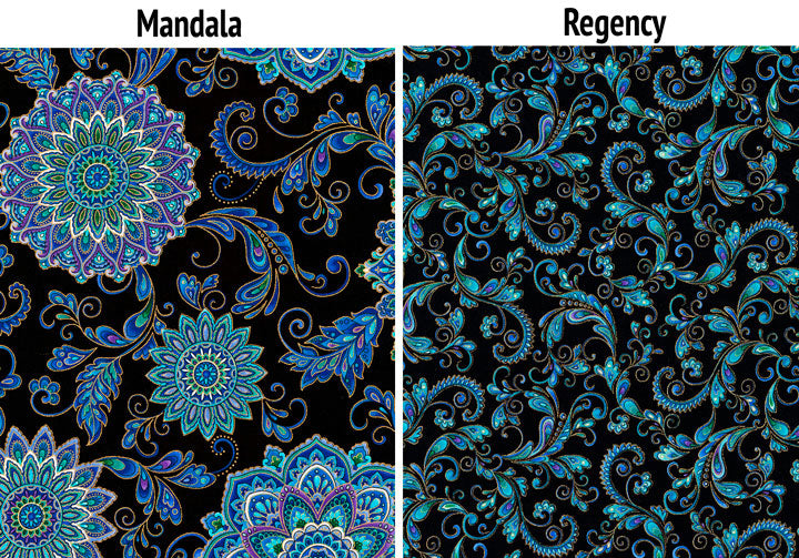 Mandala and Regency Prints
