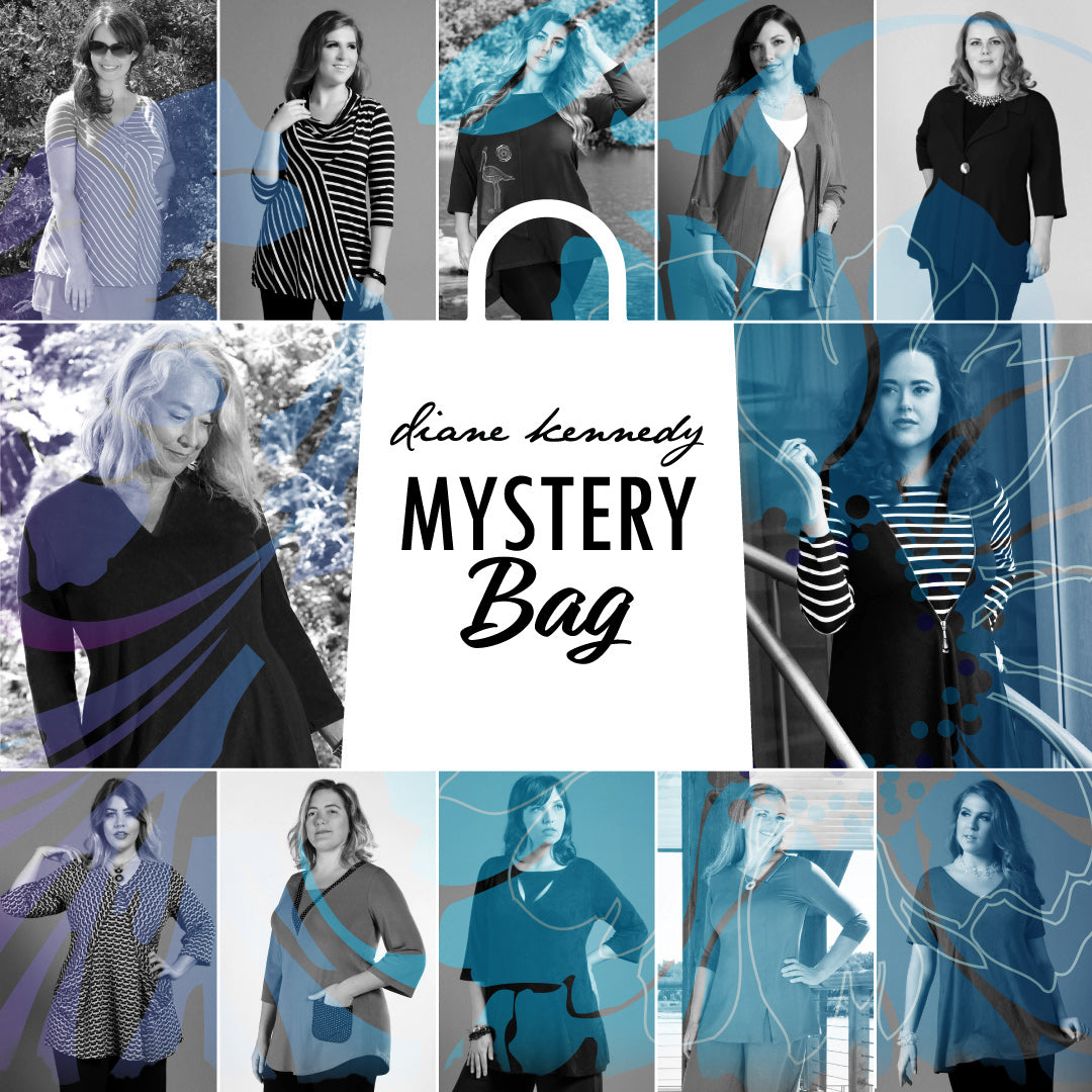 Diane Kennedy Mystery Bag Collage