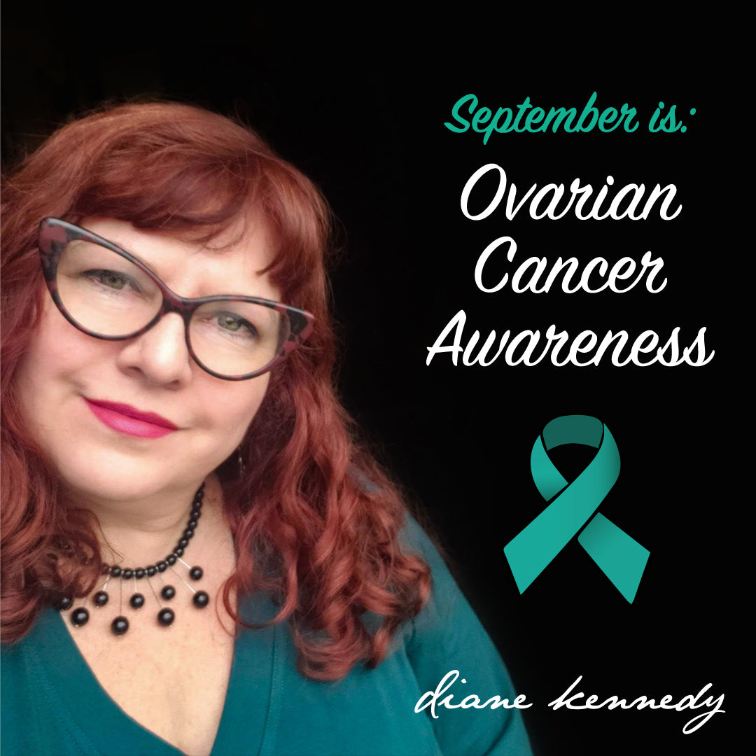 Designer Diane Kennedy for Ovarian Cancer Awareness