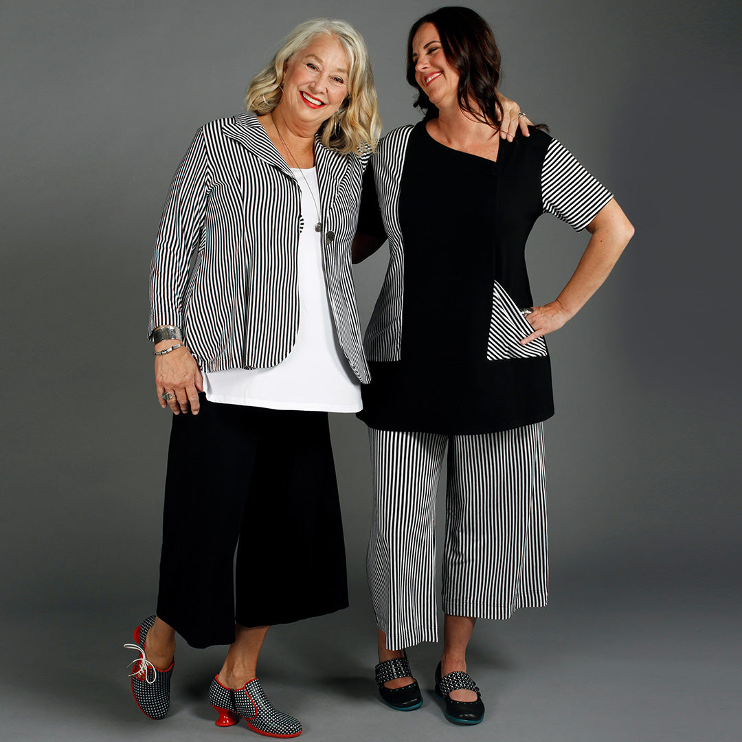 Model wear Diane Kennedy clothing designs ethically made from Bamboo
