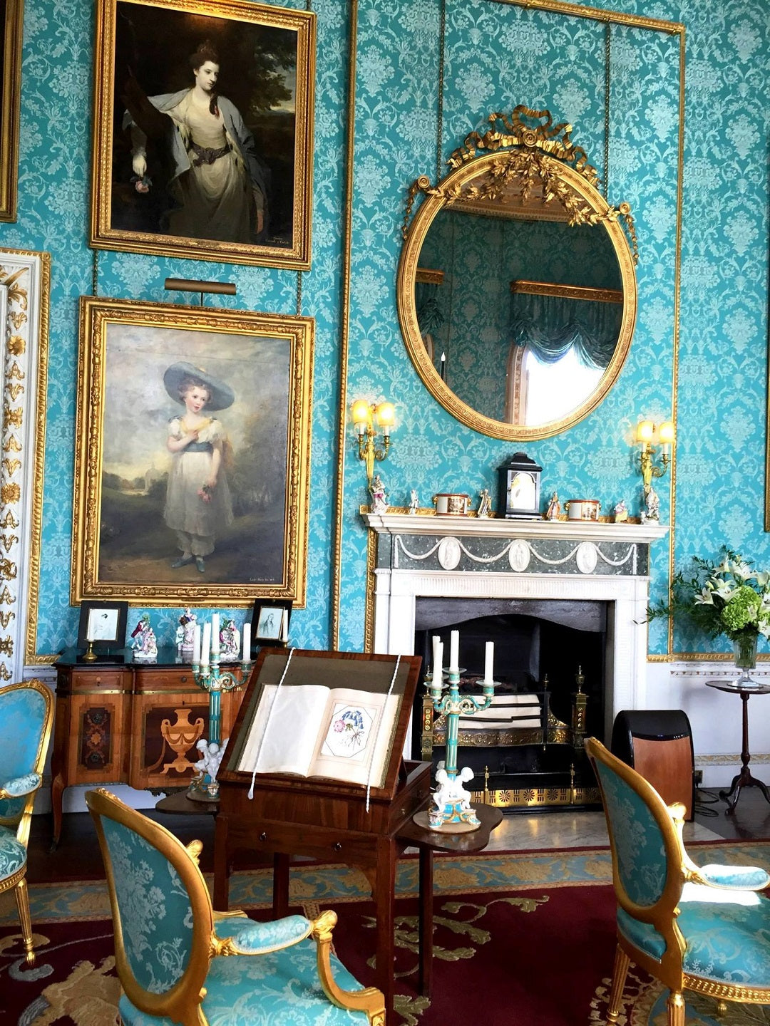 Drawing room at Castle Howard