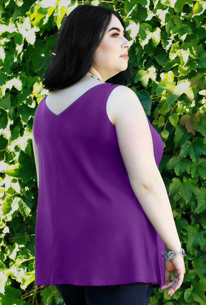 Clever Cami - Grape Bamboo