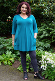 Playful Tunic - Sea Glass Bamboo