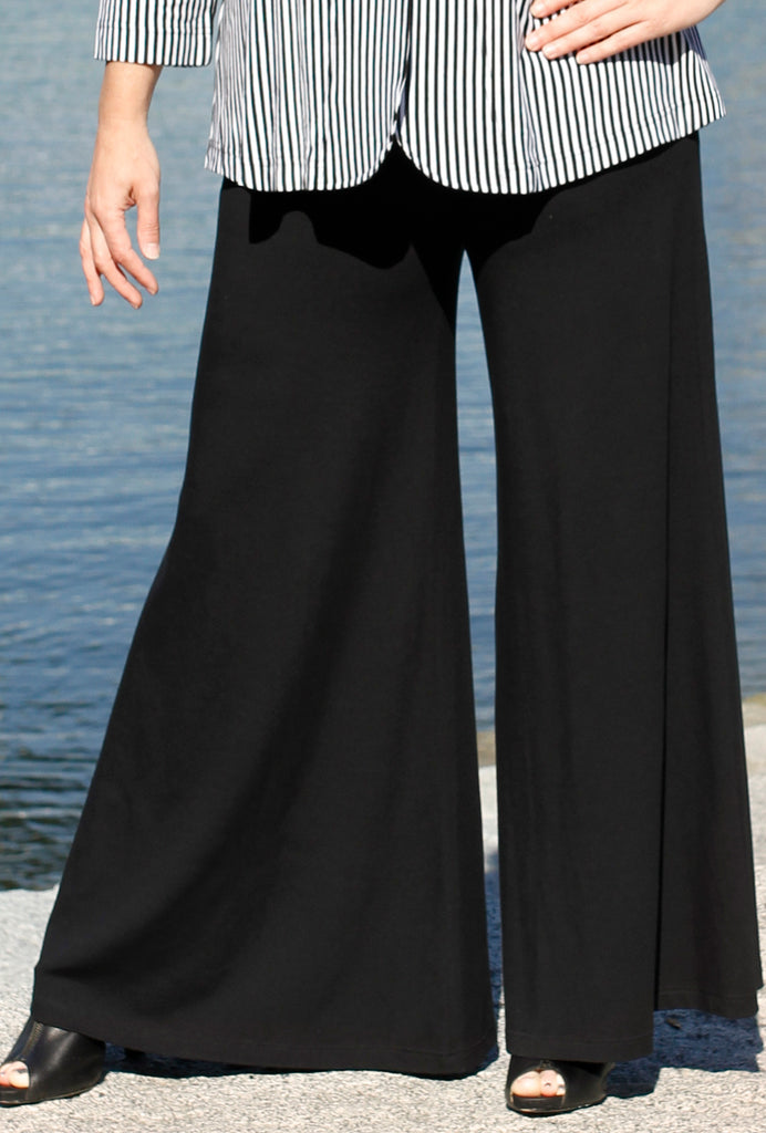 Pacific Pant - Black Bamboo